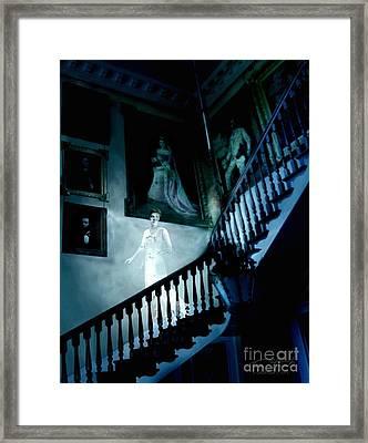 Rockwood Stairwell  Framed Print by Tom Straub