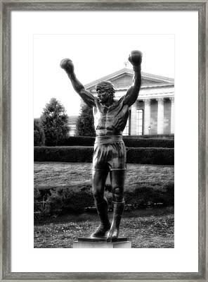 Rocky Balboa Framed Print by Bill Cannon