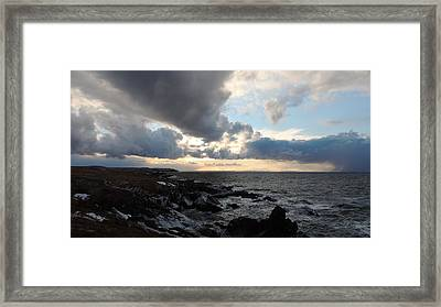 Rocky Beach 2 Framed Print by Bozena Zajaczkowska