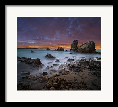 Sea Stack Framed Prints