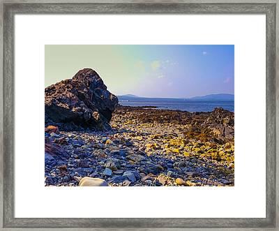 Rocky Coast Framed Print by Ernest Puglisi