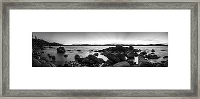 Rocky Dreams Framed Print