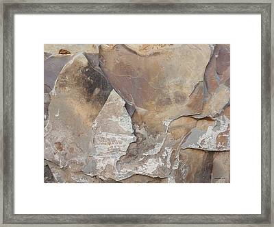 Framed Print featuring the photograph Rocky Edges by Jason Williamson