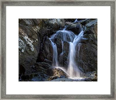 Rocky Falls Framed Print by Dale Nelson