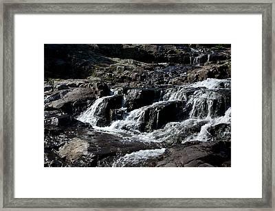 Rocky Falls Framed Print