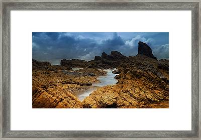 Rocky Forster 0003 Framed Print by Kevin Chippindall