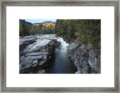 Rocky Gorge Framed Print by Andrea Galiffi