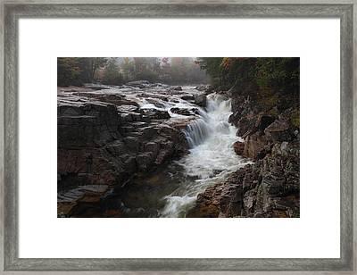 Rocky Gorge Framed Print by Mike Farslow