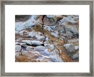 Rocky Framed Print by Heather Allen