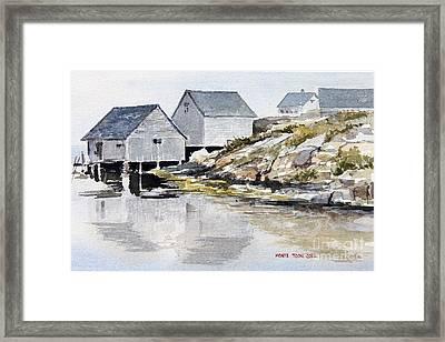 Rocky Inlet Framed Print