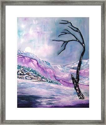 Rocky Mountain 2 Framed Print
