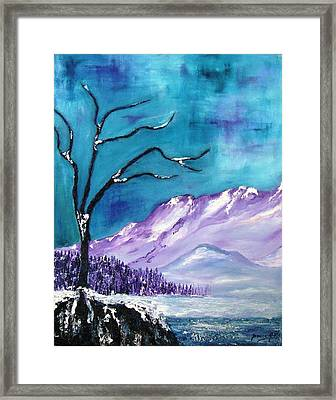 Rocky Mountain 4 Framed Print