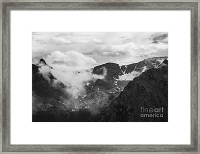 Rocky Mountain Awe Framed Print