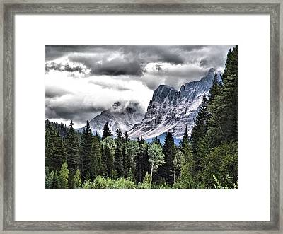 Rocky Mountain Beauty Framed Print