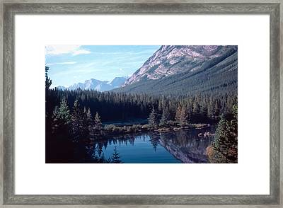 Rocky Mountain Gem Framed Print by Jim Sauchyn