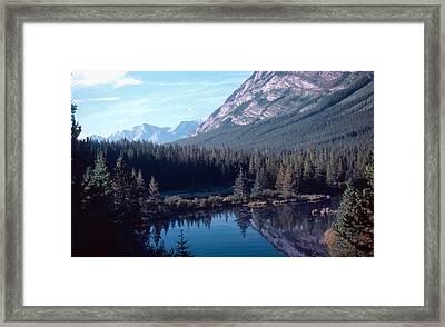 Rocky Mountain Gem Framed Print