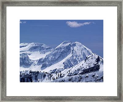 Rocky Mountain High Framed Print by Bill Gallagher