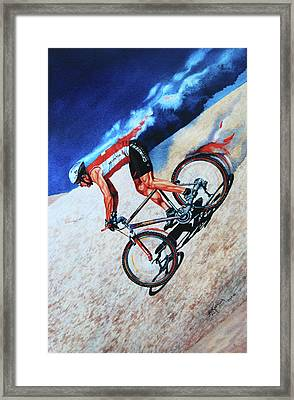 Rocky Mountain High Framed Print by Hanne Lore Koehler