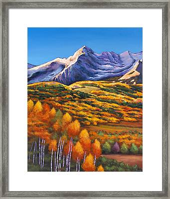 Rocky Mountain High Framed Print by Johnathan Harris