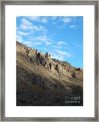 Rocky Mountain Framed Print by Kimberly Maiden