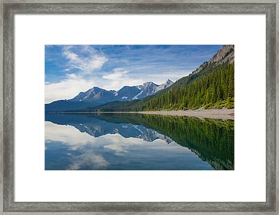 Rocky Mountain Moment Framed Print by Laura Bentley