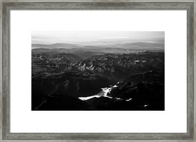 Rocky Mountain Morning Framed Print by John Daly