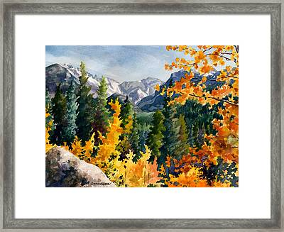 Rocky Mountain National Park Framed Print