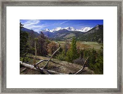 Rocky Mountain National Park Framed Print by Joan Carroll