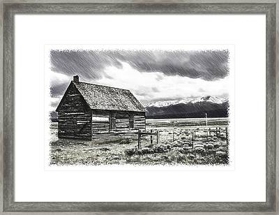 Rocky Mountain Past Framed Print