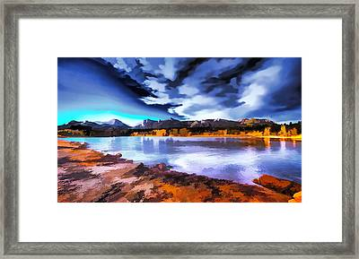 Rocky Mountain Surprise Framed Print