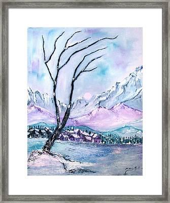 Rocky Mountains 3 Framed Print