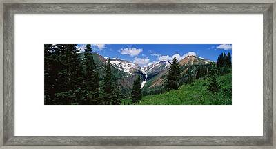 Rocky Mountains Co Framed Print by Panoramic Images