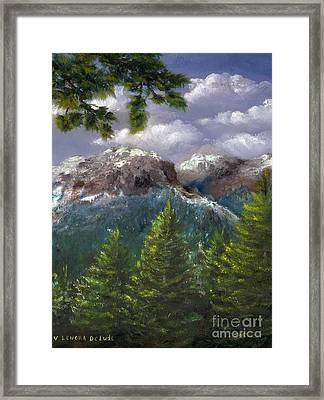 Rocky Mountains National Park Colorado Framed Print