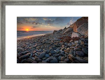 Rocky North Ponto Framed Print by Peter Tellone