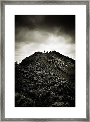 Rocky Pathway To Scotland Framed Print