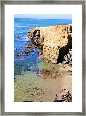 Rocky Point Sunset Cliffs Framed Print