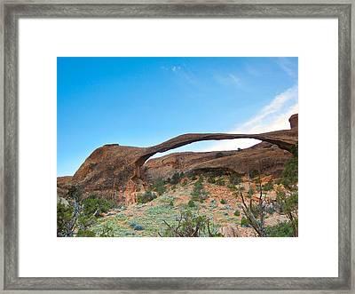 Rocky Rainbow Framed Print