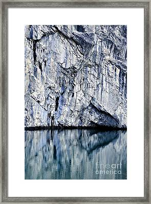 Rocky Reflection Framed Print