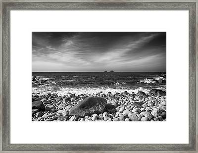 Rocky Shore Framed Print by Chris Thaxter