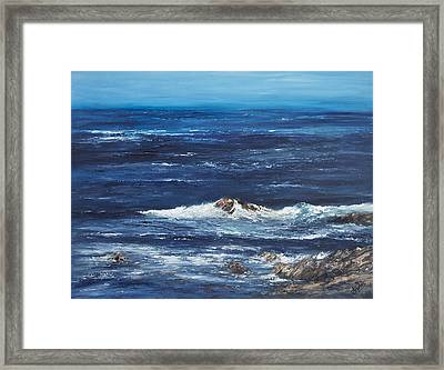 Rocky Shore Framed Print