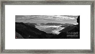 Rocky Sight Framed Print by Marco Affini
