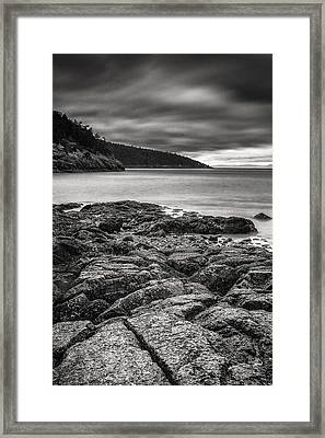 Rocky Storm Framed Print