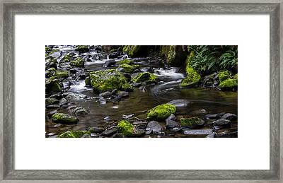 Rocky Stream 03 Framed Print by Heather Provan