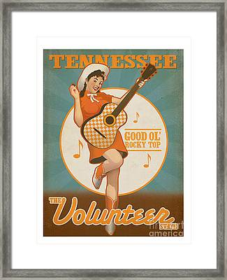 Rocky Top Tennessee Framed Print