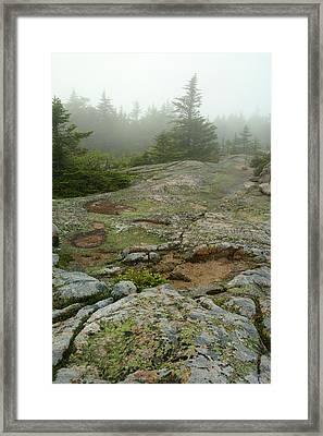 Rocky View From Near The Top Framed Print by Darlyne A. Murawski