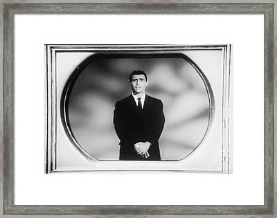Rod Serling On T V Framed Print