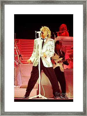 Rod Stewart A4a-3 Framed Print by Gary Gingrich Galleries