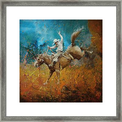 Rodeo 001 Framed Print by Corporate Art Task Force