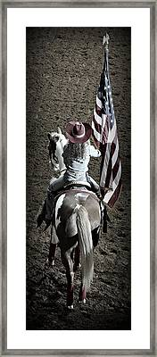 Rodeo America Framed Print by Stephen Stookey