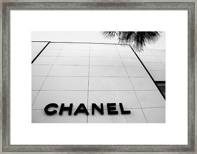 Rodeo Drive Framed Print